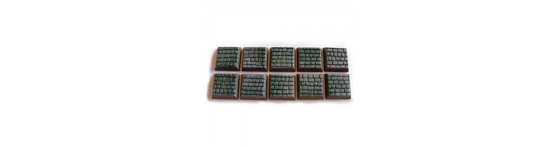 20mm Square-bases