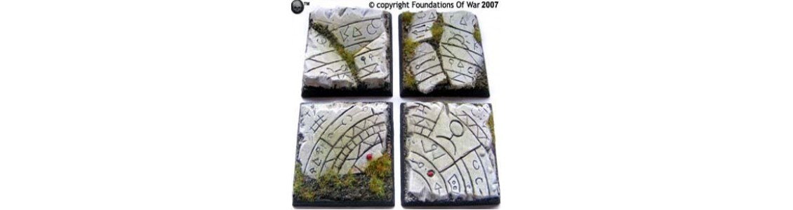40mm Square Bases