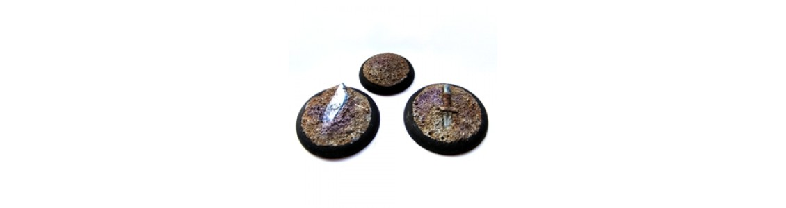 Round Lipped Bases