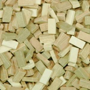 Teracotta Mix Bricks (1:48 scale)