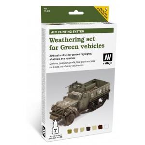 AFV Weathering Set for Green Vehicles