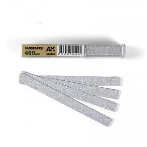 Sandpaper Sticks 400 grit