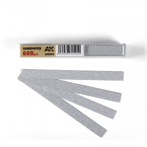Sandpaper Sticks 600 grit