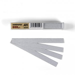 Sandpaper Sticks 800 grit