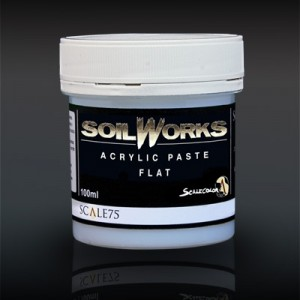 Soil Works Flat Acrylic Paste