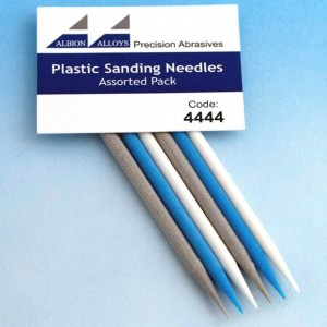 Plastic Sanding Needles Assorted Pack