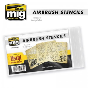 Texture Template Airbrush stencils