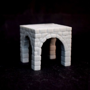 Fusion: Arch Plinth 40mm