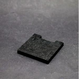 Fusion: Black Circuit Laser Floor