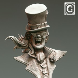 Mad Hatter Bust