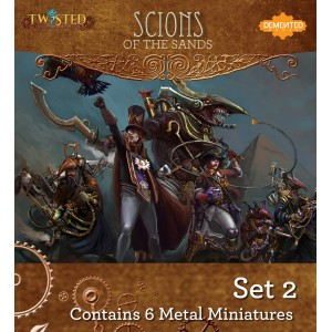 The Scions of the Sands Set 2
