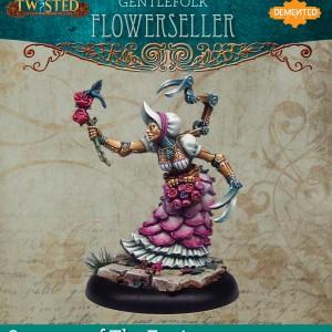 Flower Seller (Metal)