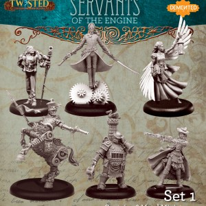 The Servants of the Engine Set 1