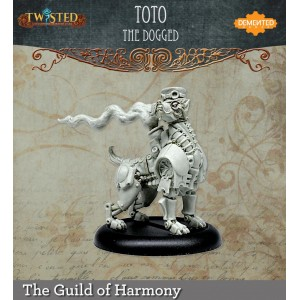 Toto The Dogged (Resin)