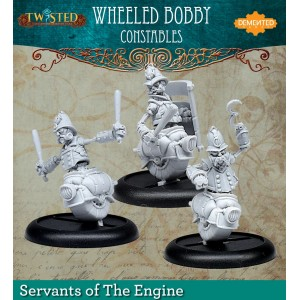 Wheeled Bobbies (Metal)