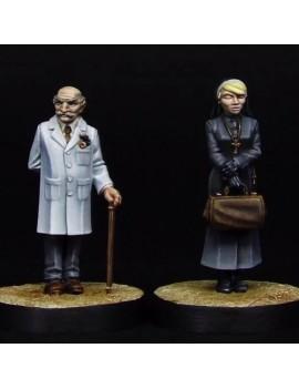 Dr Strukov and Sister Anaesthesia
