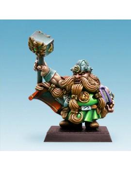 Dwarf Rune Priest with Hammer