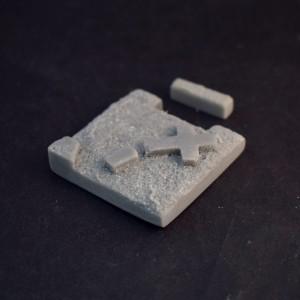 Fusion: Fallen Cross Floor 40mm square