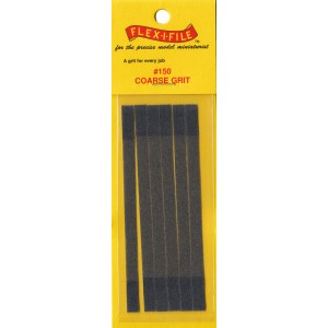 Flex-i-file 150 Coarse Grit Refill Set