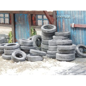 Old Large Tyres