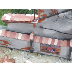 Flat Roof Tiles (1:45 scale)