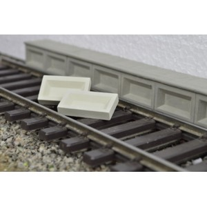 Platform Edging Blocks (1:45 scale)