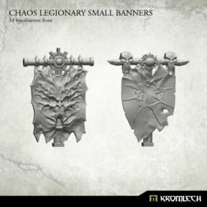 Small Chaos Legionary Banner