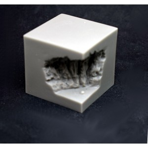 Fusion: Chaos Lava Plinth 40mm square