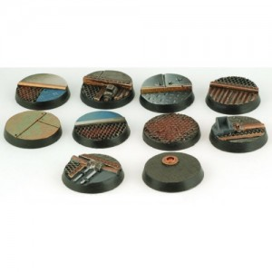 25mm Round Star Ship Deck Bases