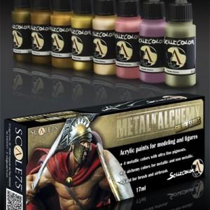 Metal N' Alchemy Gold Paint Set