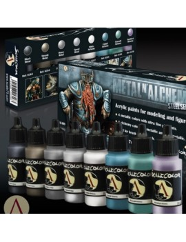 Metal N' Alchemy Steel Paint Set
