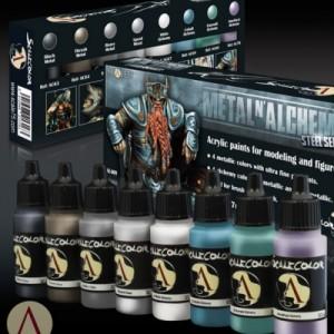 Metal N' Alchemy Steel Paint Set
