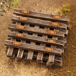 Old Wooden Sleepers 1:45