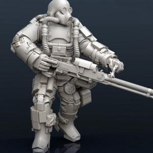 Nest Destroyer Heavy Gunner 2