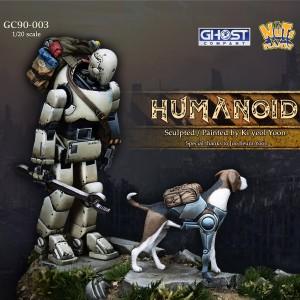 Humanoid with Dog