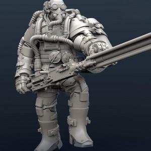 Nest Destroyer Heavy Gunner