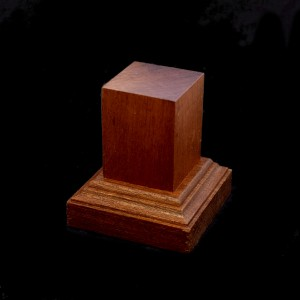 30mm Square Hardwood Plinth