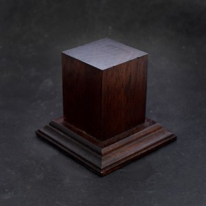 33mm Square Hardwood Plinth