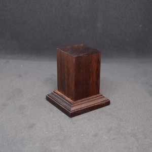 33mm Square Tall Wood Plinth