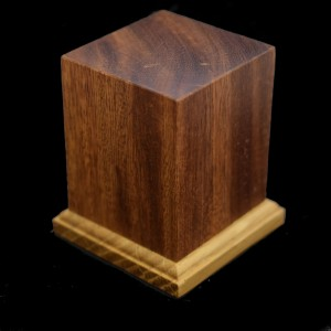 40mm Square Hardwood Plinth