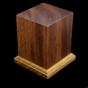 40mm Square Hardwood Plinth