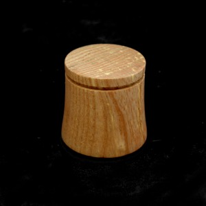 38mm Round Grooved and Bulged Wood Plinth