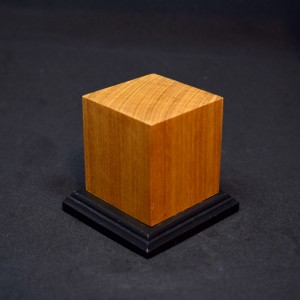 45mm Two Tone Wood Plinth with beaded base