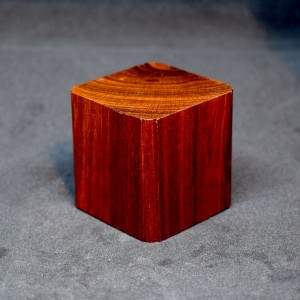 50mm Square Wood Plinth with Corner Detail