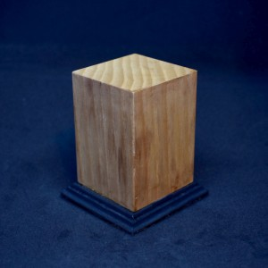 50mm Square Tall Two-tone Plinth