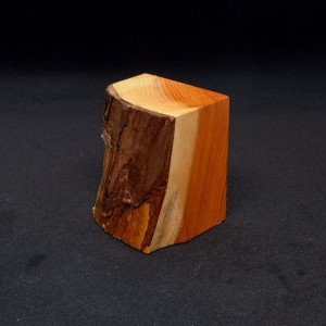 50mm Half Plinth with Bark Face