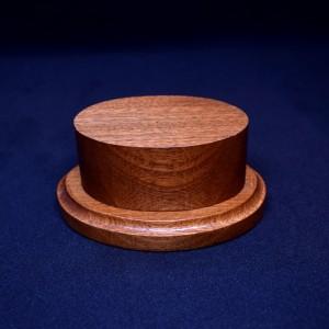 70mm Oval Wood Plinth