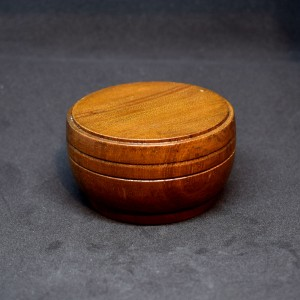 76mm Wooden Bowl Plinth with Double Groove