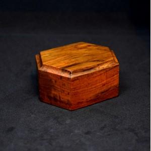 80mm Wooden Hexagon Plinth