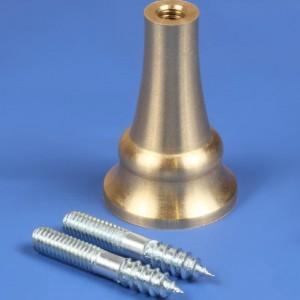 30mm Rustic Brass Plinth Pin
